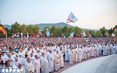 2003年主教到訪黙主哥耶