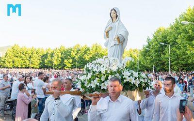 聖母在默主歌耶顯現第三十九週年 (2020年6月25日)