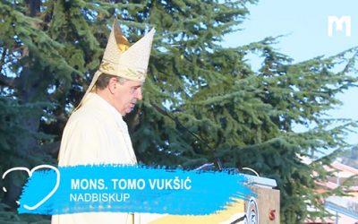 總主教 Tomo Vukšić 的講道