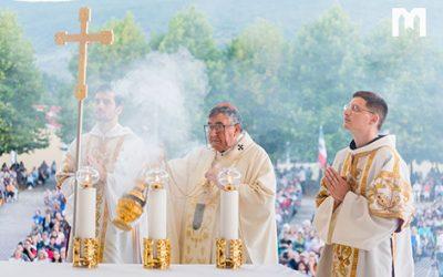 Puljić 總主教: 您所尋找的一切,都會與耶穌一起找到。瑪利亞會帶領你到祂那裡去!