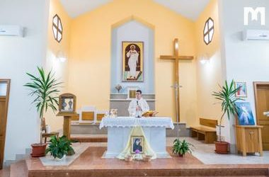 默主哥耶慶祝聖女傅天娜紀念日