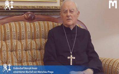 默主哥耶教廷特使觀察員總主教 Henryk Hoser (2021年1月30日)