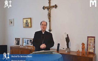 歡迎詞:Bertram Meier主教,奧格斯堡主 (Augsburg) 教區 (2021年1月30日)