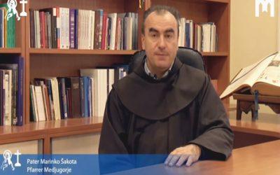 默主哥耶堂區司鐸 Marinko Šakota 主題: 聖母學校 (2021年1月30日)